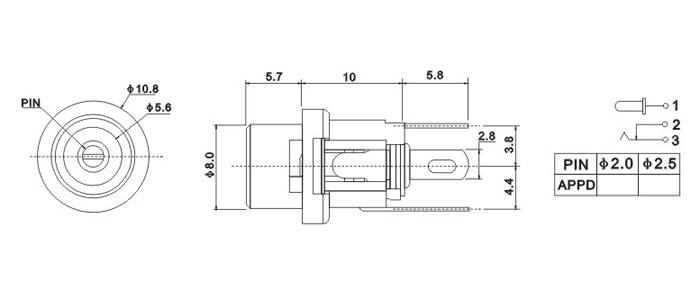 电路 电路图 电子 工程图 平面图 原理图 700_300